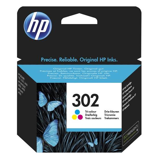 Hp F6U65AE Color Inkjet Cartridge  302