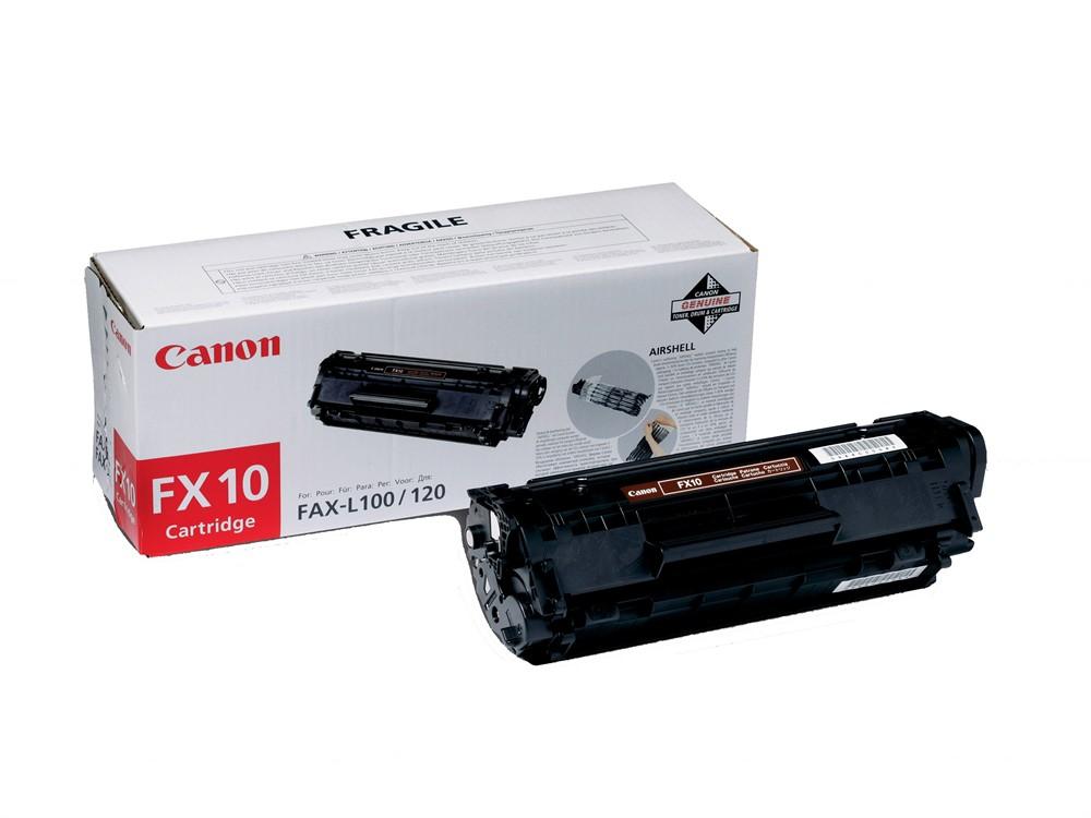 Canon 0263B002 Black  Laser Toner  FX-10
