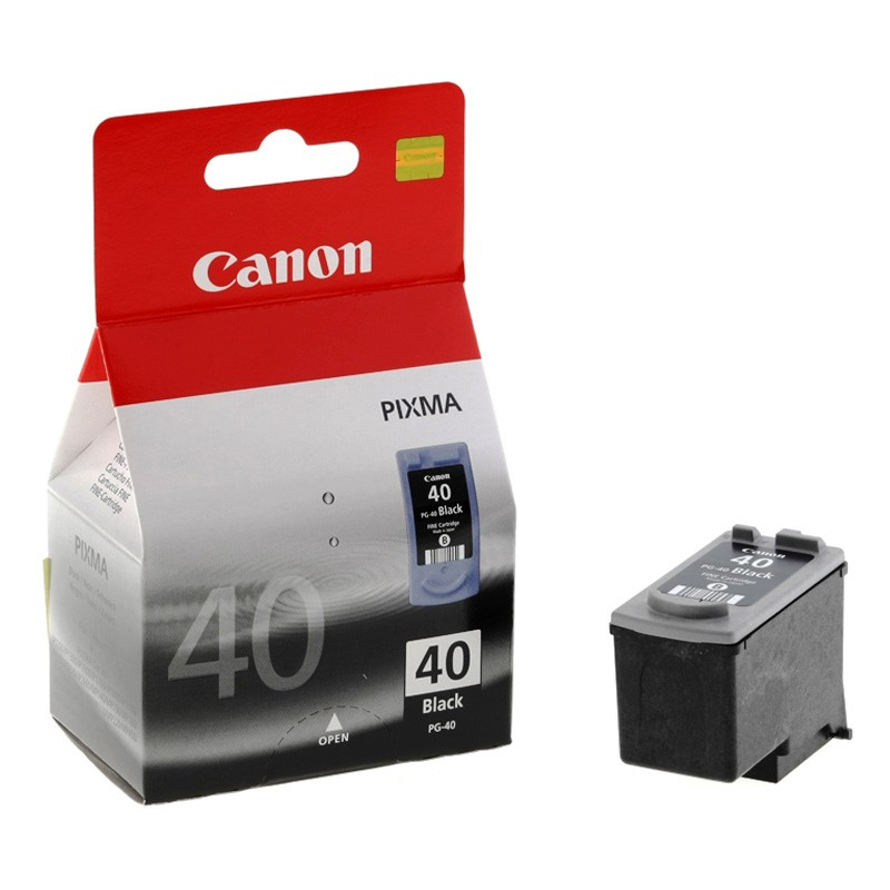 Canon 0615B001 Black  Inkjet Cartridge (329 σελίδες) PG-40