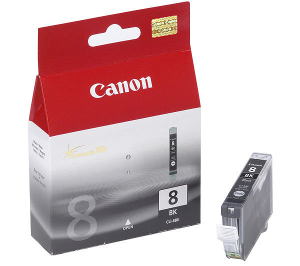 Canon 0620B001 Photo Black  Inkjet Cartridge  CLI-8
