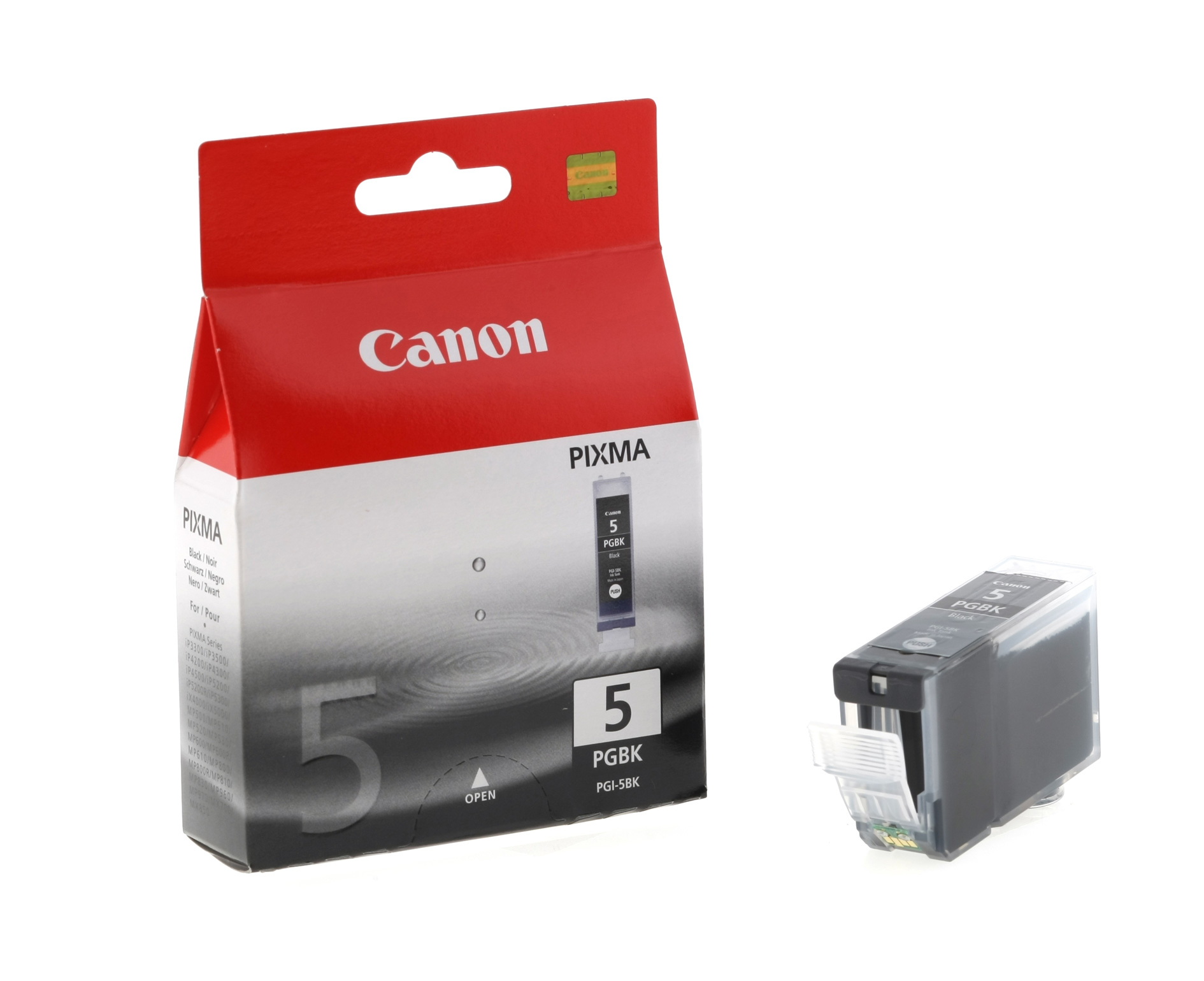Canon 0628B001 Black  Inkjet Cartridge (800 σελίδες) PGI-5