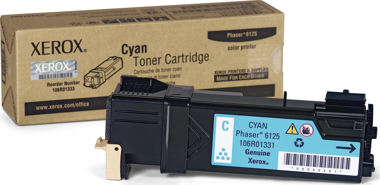 Xerox 106R01331 Cyan Laser Toner (1000 σελίδες) 106R01331