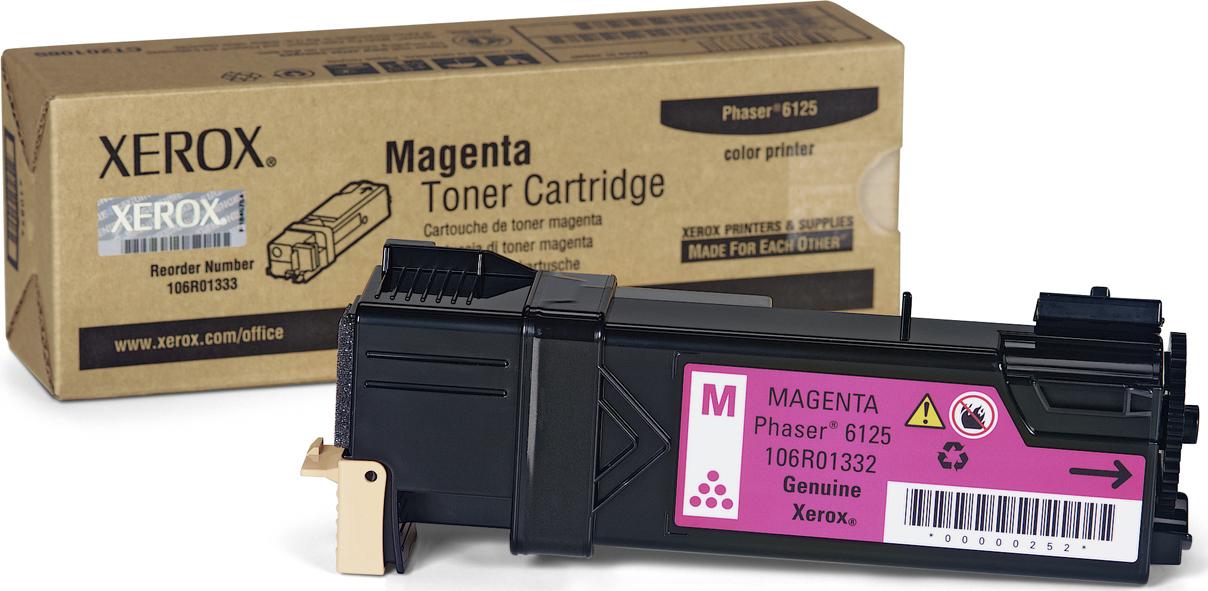 Xerox 106R01332 Magenta Laser Toner  106R01332