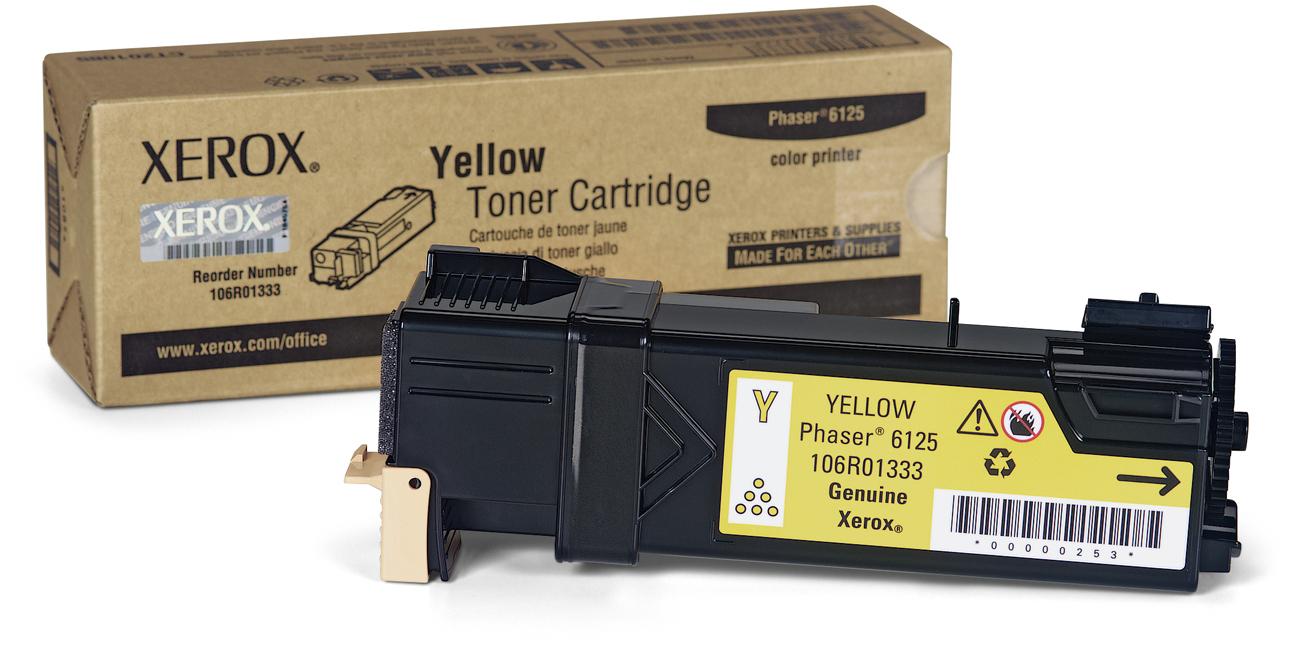 Xerox 106R01333 Yellow Laser Toner  106R01333