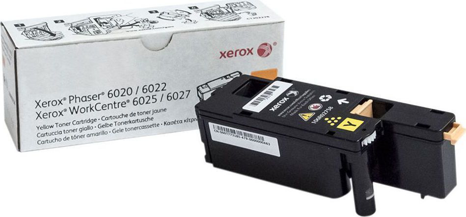 Xerox 106R02758 Yellow Laser Toner (1000 σελίδες) 106R02758