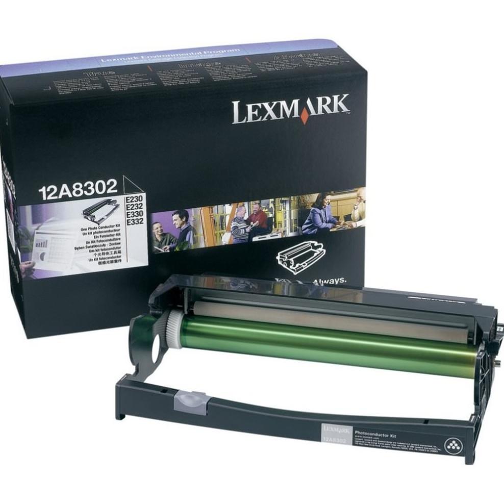 Lexmark 12A8302 Black  Laser Toner (30000 σελίδες) DRUM UNIT