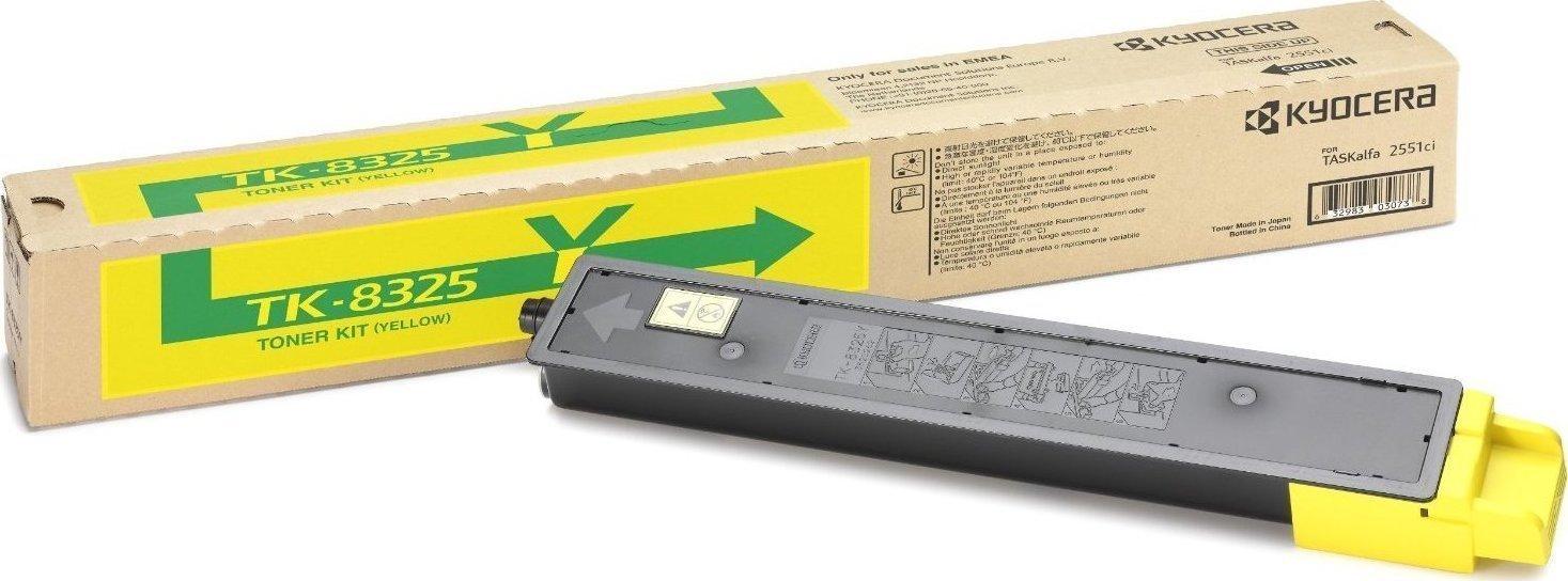 Kyocera TK-8325Y Yellow Toner (1T02NPANL0) 12.000 ΣΕΛΙΔΕΣ