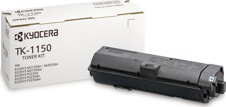 Kyocera TK-1150/1T02RV0NL0 Black  Laser Toner  TK-1150