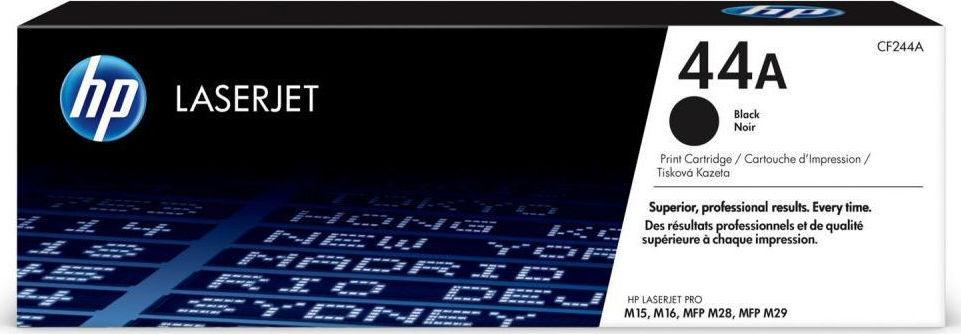 Hp CF244A Black  Laser Toner  44A