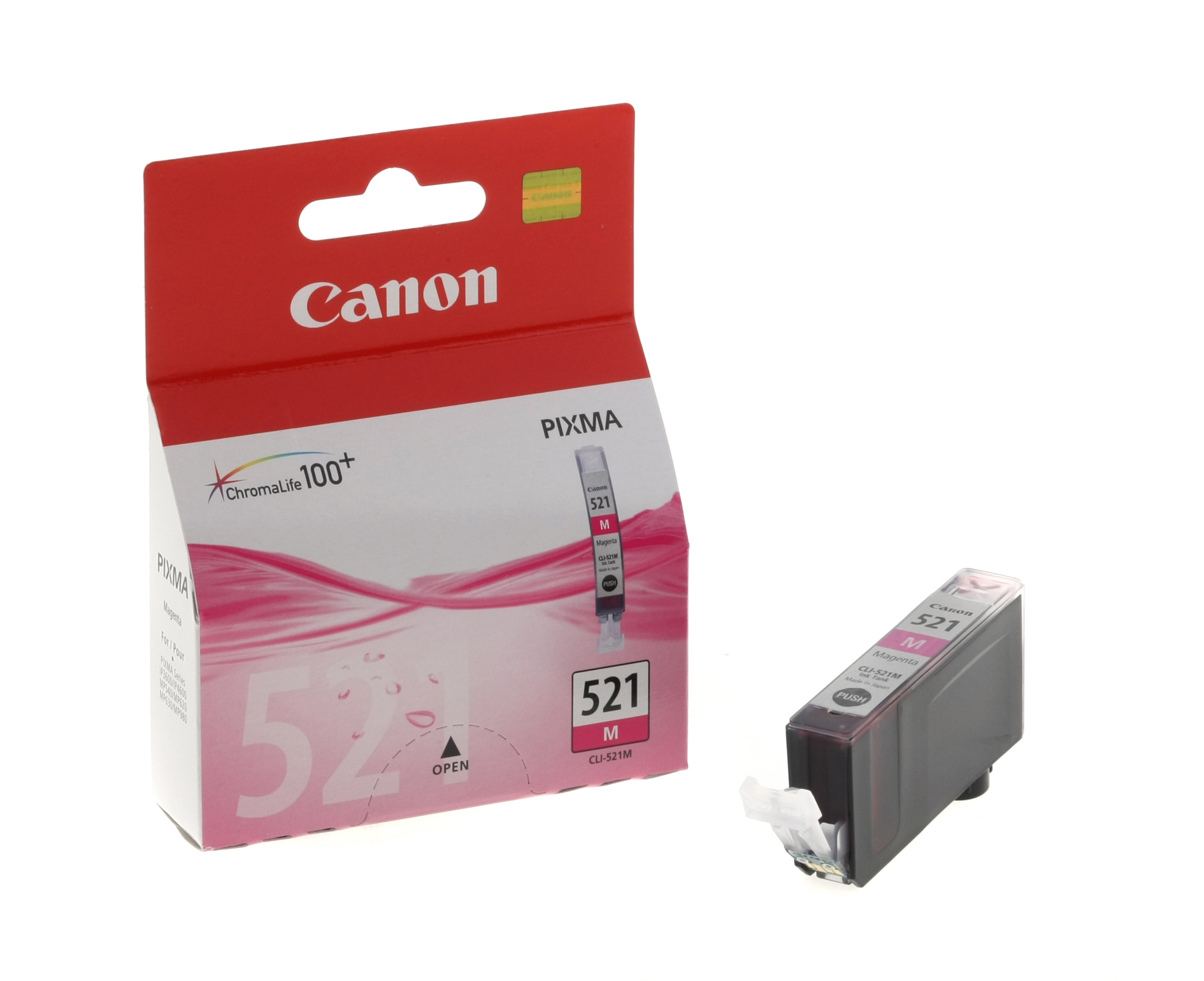 Canon 2935B001 Magenta Inkjet Cartridge (470 σελίδες) CLI-521
