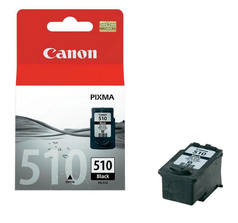 Canon 2970B001 Black  Inkjet Cartridge (220 σελίδες) PG-510