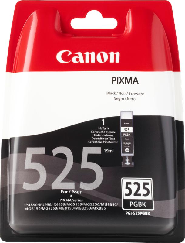 Canon 4529B001 Black  Inkjet Cartridge  PGI-525