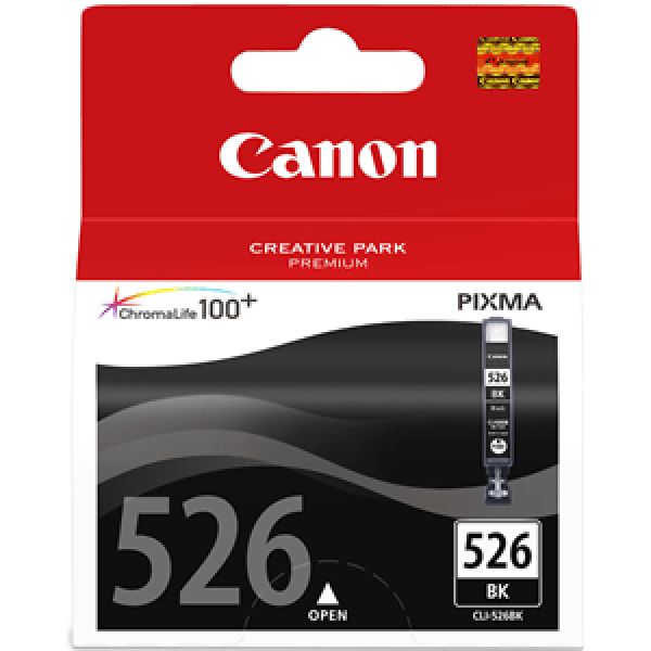 Canon 4540B001 Photo Black  Inkjet Cartridge (2185 σελίδες) CLI-526