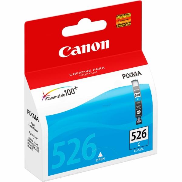 Canon 4541B001 Cyan Inkjet Cartridge (500 σελίδες) CLI-526