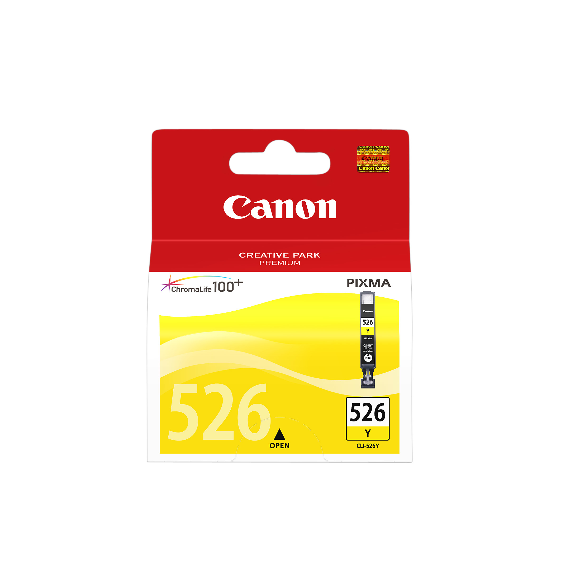 Canon 4543B001 Yellow Inkjet Cartridge  CLI-526