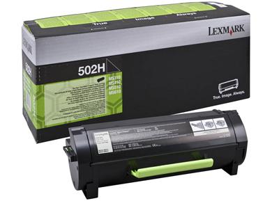 Lexmark 50F2H00 Black  Laser Toner (5000 σελίδες) 502H