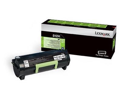 Lexmark 51F2H00 Black  Laser Toner (5000 σελίδες) 512HE