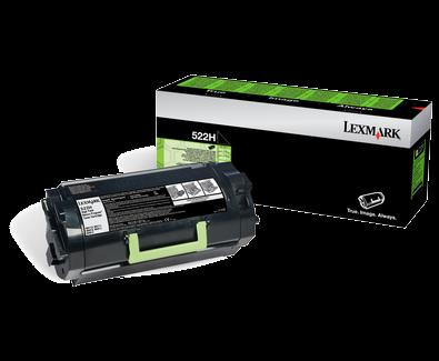 Lexmark 52D2H00 Black  Laser Toner (25000 σελίδες) 522H