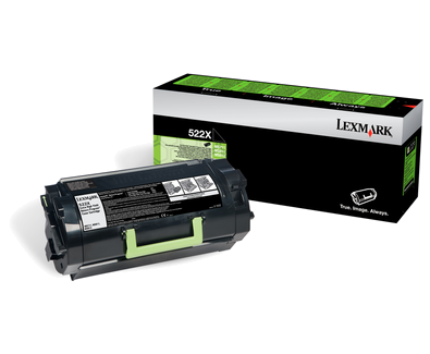 Lexmark 52D2X00 Black  Laser Toner (45000 σελίδες) 522X
