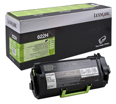 Lexmark 62D2H00 Black  Laser Toner (25000 σελίδες) 622H