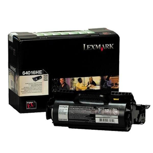 Lexmark 64016HE Black  Laser Toner  64016HE