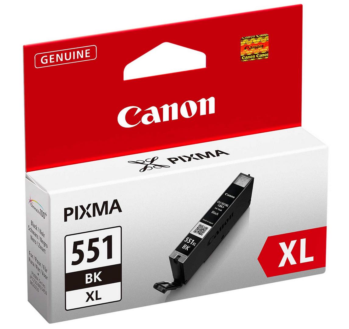 Canon 6443B001 Photo Black  Inkjet Cartridge  CLI-551XL