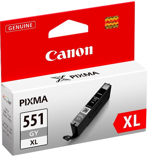 Canon 6447B001 Grey Inkjet Cartridge (275 σελίδες) CLI-551XL