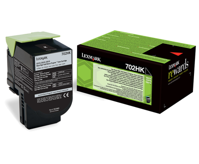 Lexmark 70C2HK0 Black  Laser Toner (4000 σελίδες) 702HK