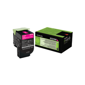 Lexmark 80C2HM0 Magenta Laser Toner (3000 σελίδες) 802HM