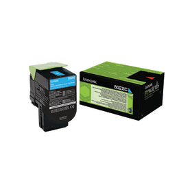 Lexmark 80C2XC0 Cyan Laser Toner (4000 σελίδες) 802XC
