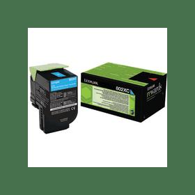Lexmark 80C2XC0 Cyan Laser Toner  802XC