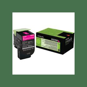 Lexmark 80C2XM0 Magenta Laser Toner (4000 σελίδες) 802XM