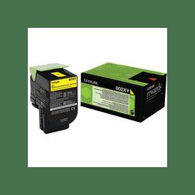 Lexmark 80C2XY0 Yellow Laser Toner  802XY