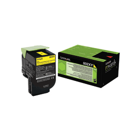 Lexmark 80C2XY0 Yellow Laser Toner (4000 σελίδες) 802XY