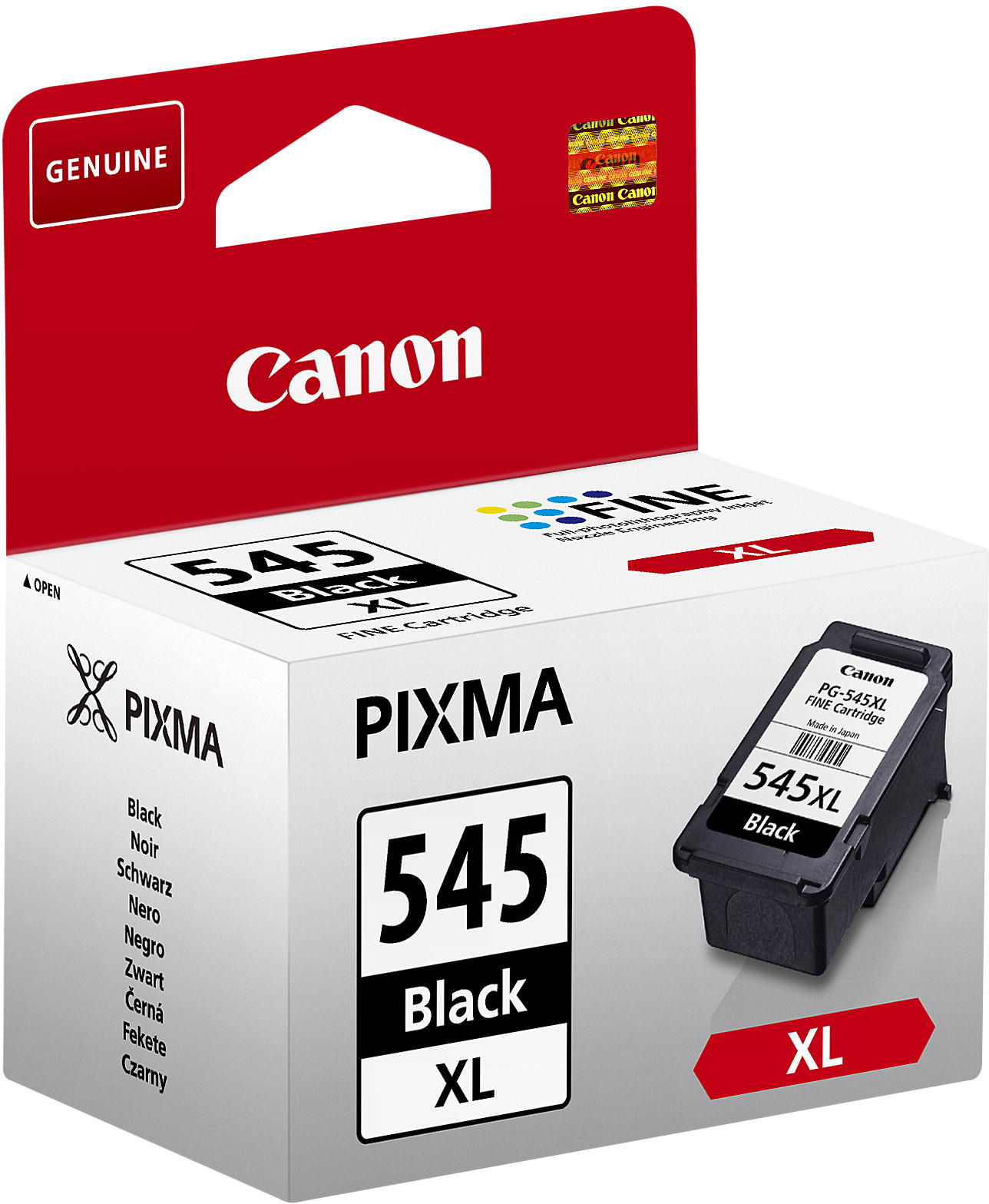 Canon 8286B001 Black  Inkjet Cartridge (400 σελίδες) 545XL