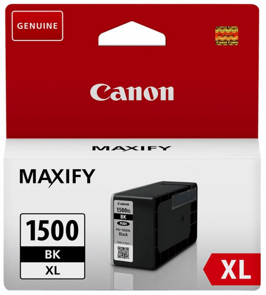 Canon 9182B001 Black  Inkjet Cartridge  PGI-1500XL