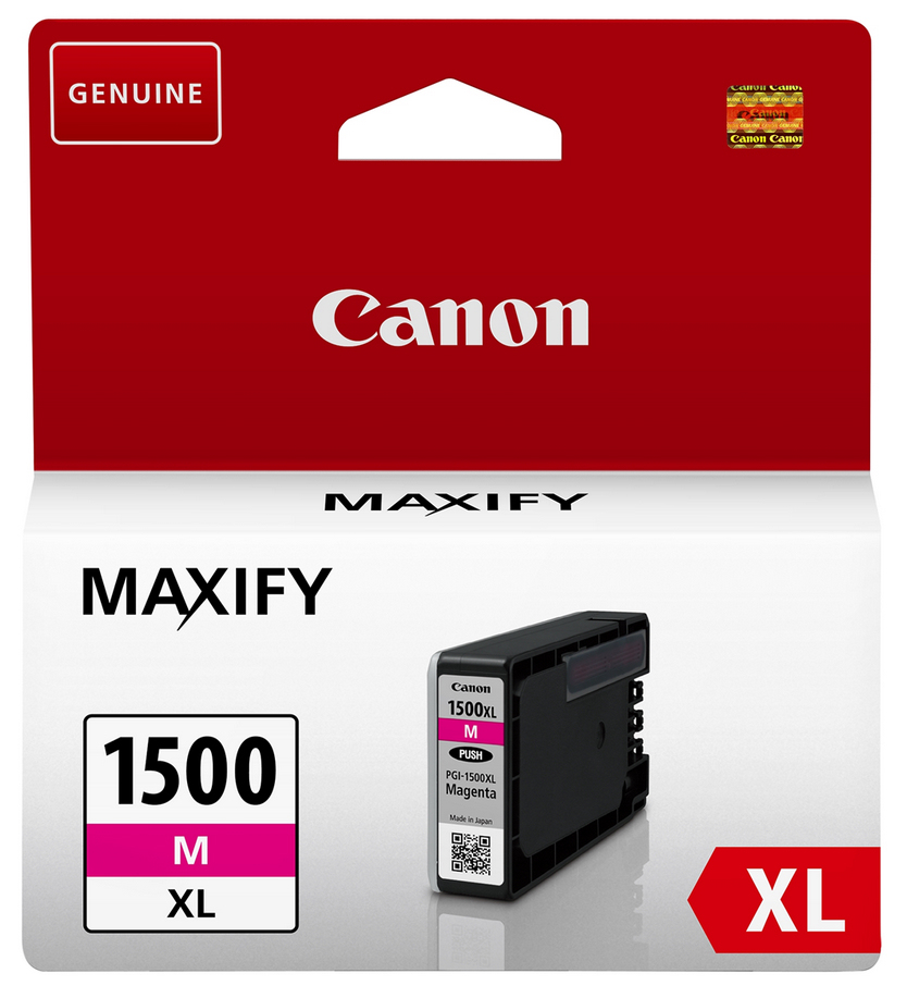 Canon 9194B001 Magenta Inkjet Cartridge  PGI-1500XL