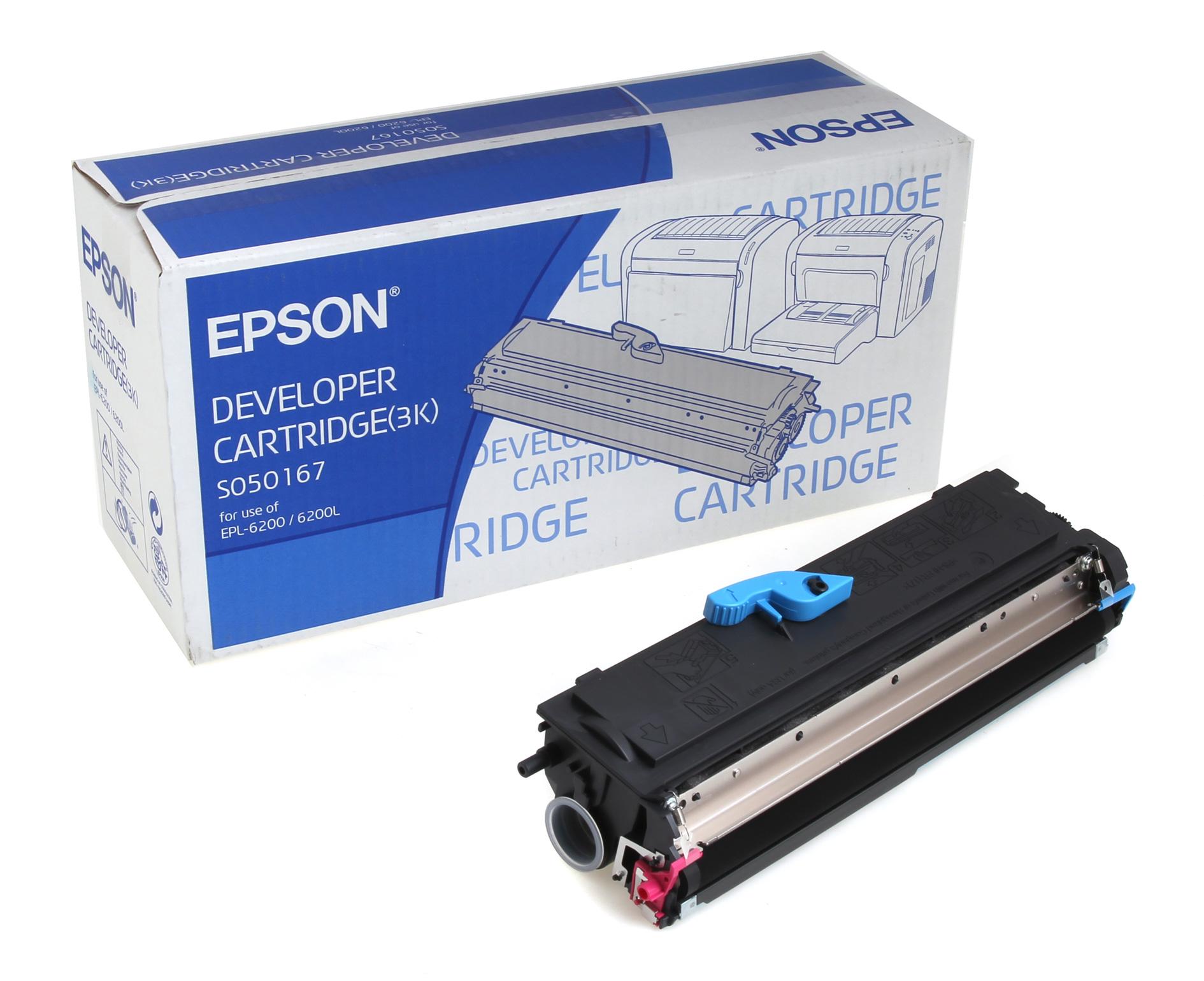 Epson C13S050167 Black  Laser Toner (3000 σελίδες) 6200