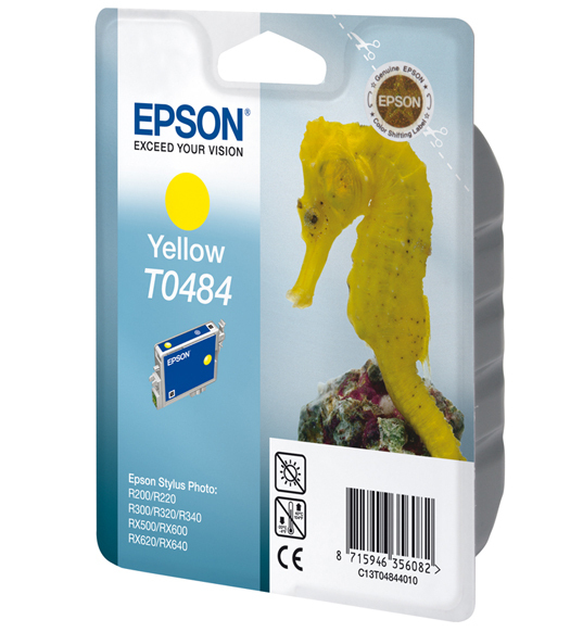 Epson C13T04844010 Yellow Inkjet Cartridge (420 σελίδες) T0484