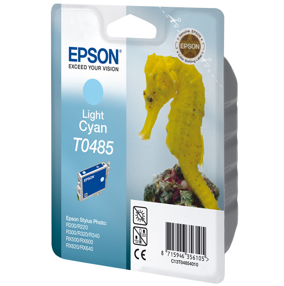 Epson C13T04854010 Light Cyan Inkjet Cartridge (430 σελίδες) T0485