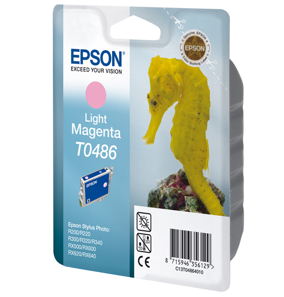 Epson C13T04864010 Light Magenta Inkjet Cartridge (430 σελίδες) T0486