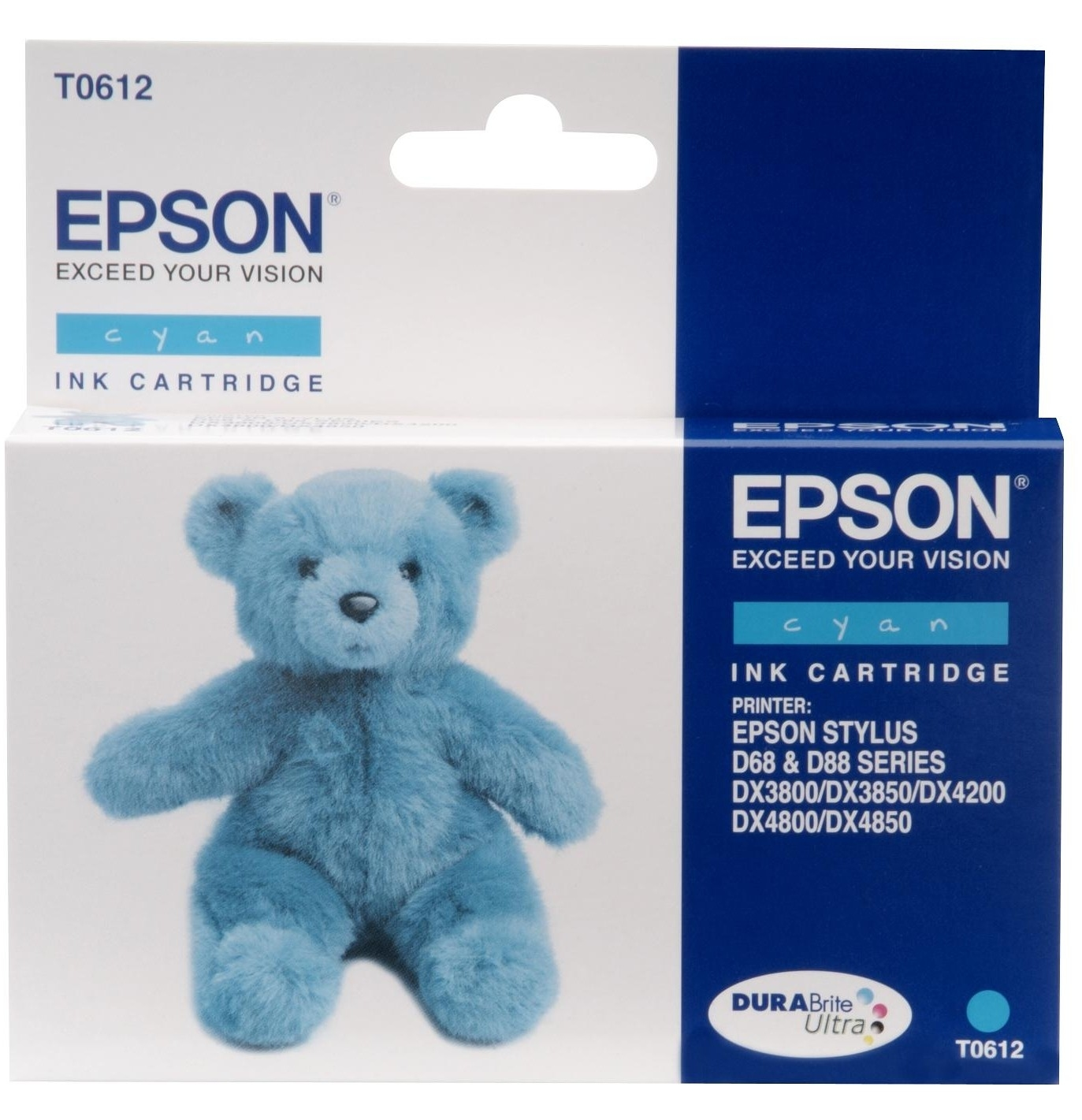 Epson C13T06124010 Cyan Inkjet Cartridge (250 σελίδες) T0612