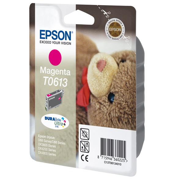 Epson C13T06134010 Magenta Inkjet Cartridge (250 σελίδες) T0613