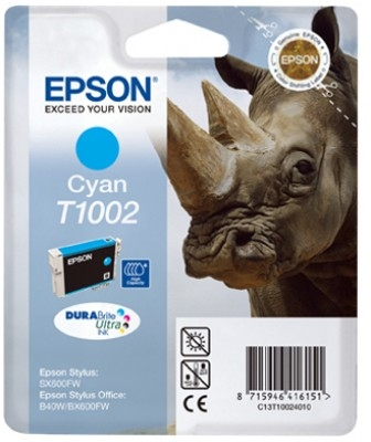 Epson C13T10024010 Cyan Inkjet Cartridge  T01002