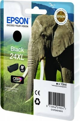 Epson C13T24314010 Black  Inkjet Cartridge  T02431