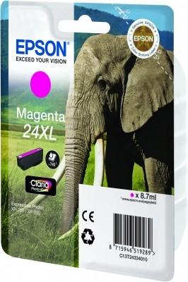Epson C13T24334010 Magenta Inkjet Cartridge  T02433