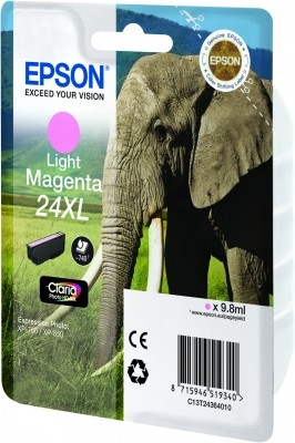 Epson C13T24364010 Photo Magenta Inkjet Cartridge  T02436