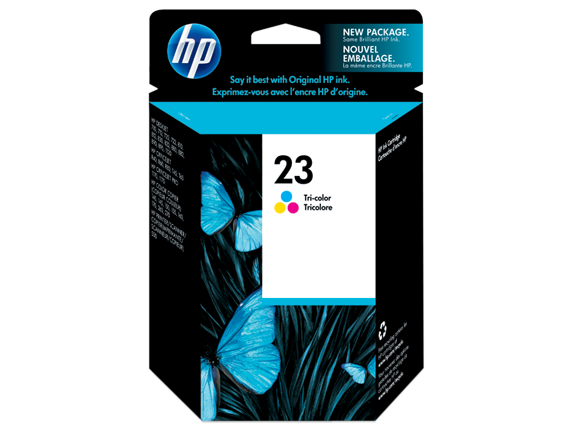 Hp C1823D Color Inkjet Cartridge (649 σελίδες) HP23