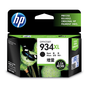 Hp C2P23AE Black  Inkjet Cartridge (1000 σελίδες) 934XL