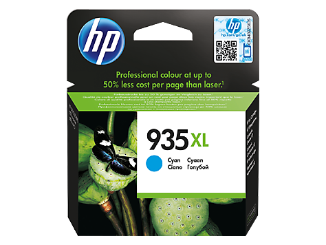 Hp C2P24AE Cyan Inkjet Cartridge (825 σελίδες) 935XL